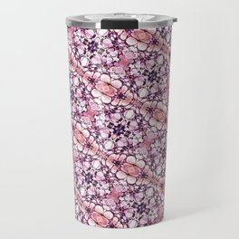 30 degree pink & purple Travel Mug