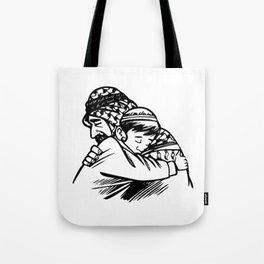 Islam Forgiveness Drawing Tote Bag