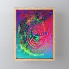 Colorful galaxy Framed Mini Art Print