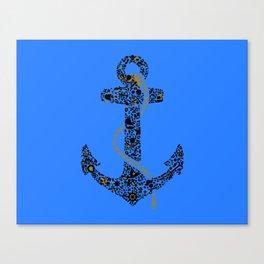 Anchor logo Canvas Print