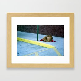 Lonely Framed Art Print