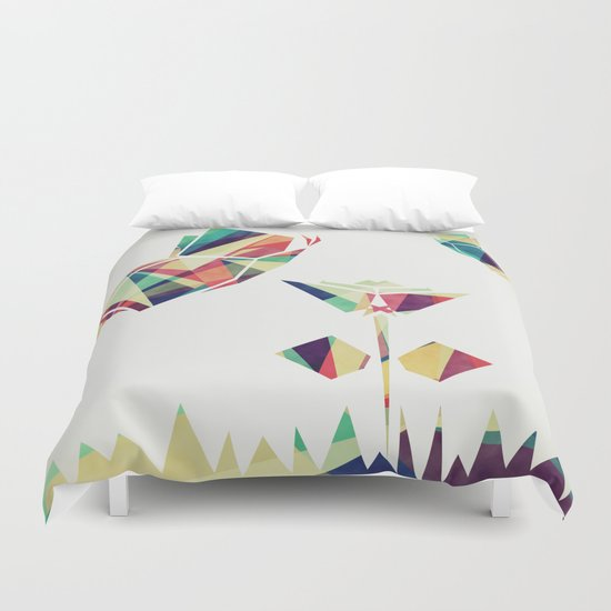 Spring Illustration Duvet Cover