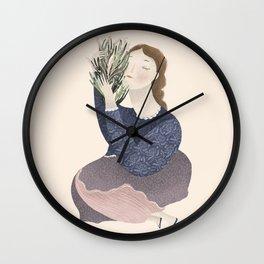 Love Garden Wall Clock