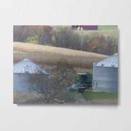 Fall Farm Metal Print