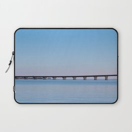 The Neuse River Bridge Laptop Sleeve