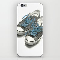 converse iPhone & iPod Skins featuring Converse by Anthony Billings