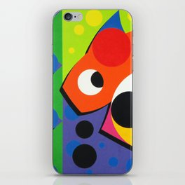 Fish - Paint iPhone Skin