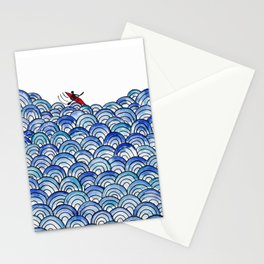 Over the Waves Stationery Cards