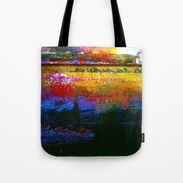 Easel Abstract 2 Tote Bag