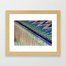 Liquid Colour Framed Art Print