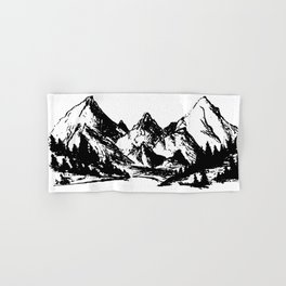 Mountains Hand & Bath Towel