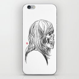 A Song About Rock N' Roll/A Song About Death iPhone Skin
