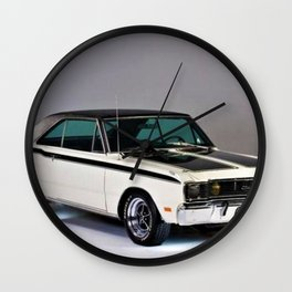 1971 Brazilian MOPAR Charger RT Rare Muscle Car Wall Clock