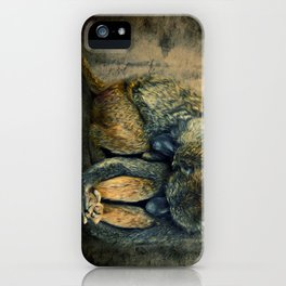 Stay together iPhone Case