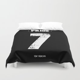 7 Deadly sins - Pride Duvet Cover