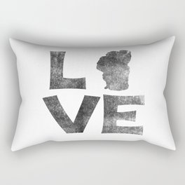 LOVE Tahoe inked Rectangular Pillow