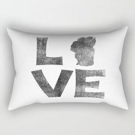 LOVE Tahoe inked Rectangular Pillow