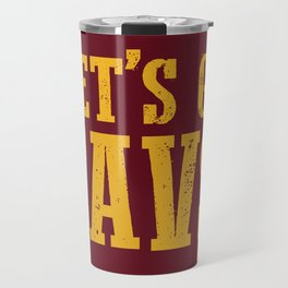 Let's Go CAVS NBA Design Travel Mug