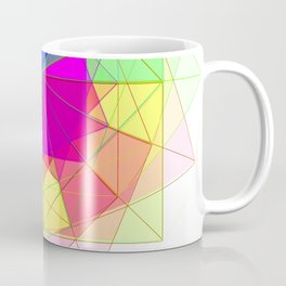 geometric abstract 2 Coffee Mug
