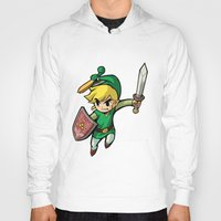 triforce Hoodies featuring Triforce Hero by Febrian89