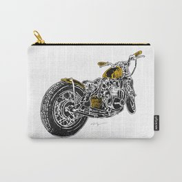 """""""Rootbeer Bobber"""" Custom Motorcycle Carry-All Pouch"""