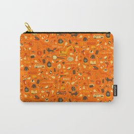 Fantastic Mr Fox Plot Pattern Carry-All Pouch