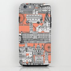 London toile peach Tough Case iPhone 6