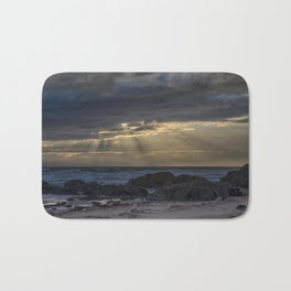 Sunset and God beams Bath Mat