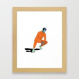 Asap Rocky Ft Bape Framed Art Print