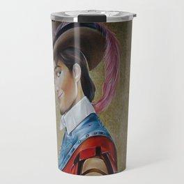 Flynn Rider Historical Portrait. Travel Mug