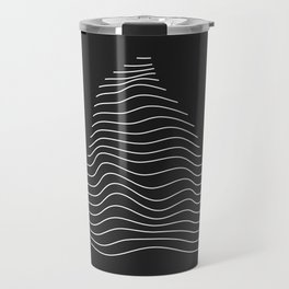 Minimal Triangle Warp Travel Mug