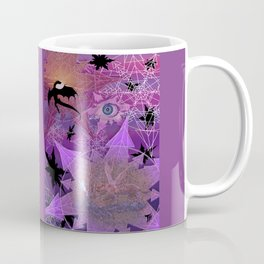 Snowflakes and Dragons Coffee Mug