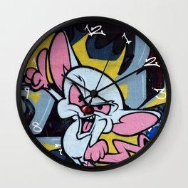 The Brain Graffiti Wall Clock