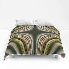 Fractal Cross in CMR 01 Comforters