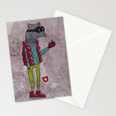 006_raccoon Stationery Cards