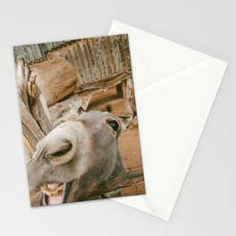 Smile....you're an ass! Stationery Cards