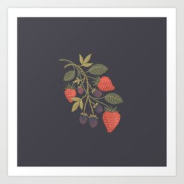 Berry Season Art Print