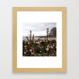 view above San Vito Framed Art Print