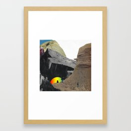 FOLLOW THE YOUNG Framed Art Print