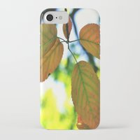 trout iPhone & iPod Cases featuring Trout & Trails by Emma Deer