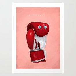 Uppercute Art Print