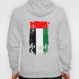 AE ARE  United Arab Emirates Flag Hoody