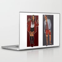 cargline Laptop & iPad Skins featuring the twins by cargline