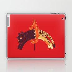 Pouncing Through Fire Laptop & iPad Skin