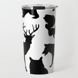 Animal Collage 4 Travel Mug