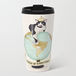THE QUEEN OF EVERYTHING Metal Travel Mug