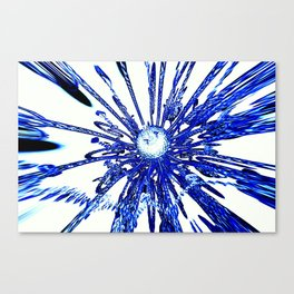 abstract   zz Canvas Print