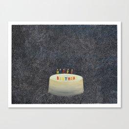 Unbirthday Canvas Print