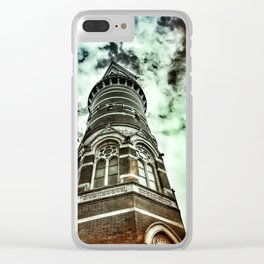 New Yorker: Jefferson Market Library Clear iPhone Case
