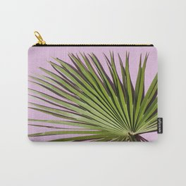 Palm on Lavender Carry-All Pouch